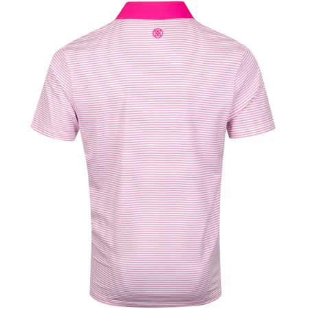 Polo Narrow Stripe Polo Day Glo Pink - AW19 G/FORE Picture