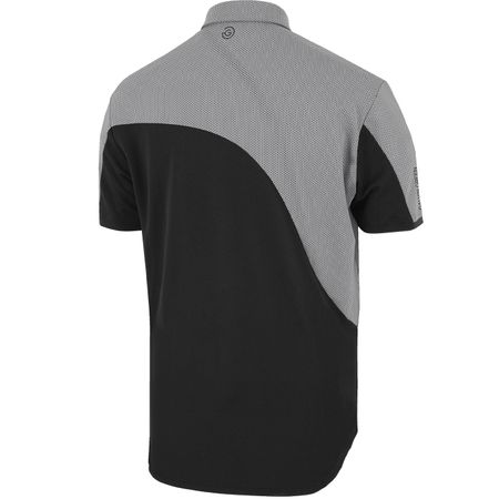 Golf undefined Morty Ventil8+ Polo Black/Sharkskin - AW19 made by Galvin Green