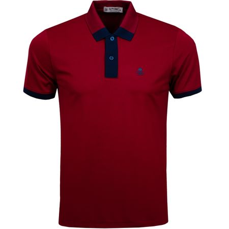 Golf undefined Contrast Polo Cabernet - AW19 made by G/FORE