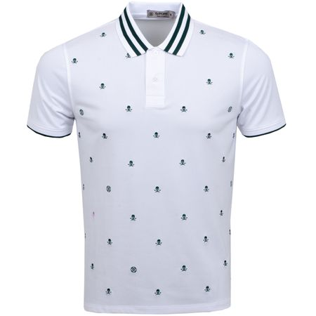 Polo Skull & T's Embroidered Polo Snow - AW19 G/FORE Picture