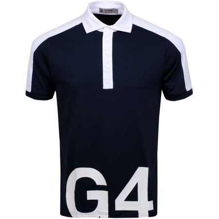 Golf undefined G4 Colour Block Polo Twilight/Snow - AW19 made by G/FORE
