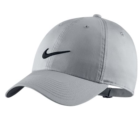 Cap Heritage 86 Statement Player Cap Wolf Grey/Anthracite - AW19 Nike Golf Picture