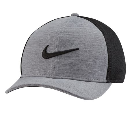 Cap Aerobill Classic 99 Mesh Cap Charcoal Heather/Black - AW19 Nike Golf Picture