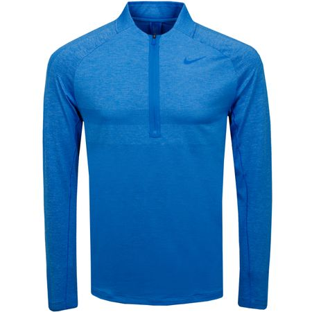 Golf undefined Dri-Fit Half Zip Statement Top Light Photo Blue - AW19 made by Nike Golf