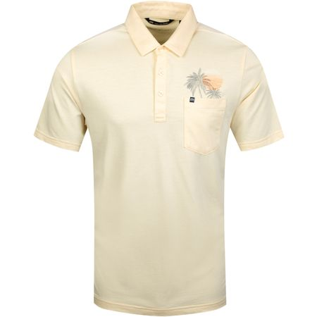 Polo Picnic Heather Alabaste Gleam - AW19 TravisMathew Picture