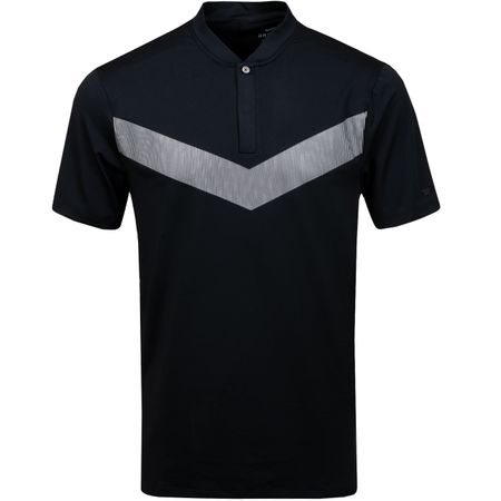 Polo TW Dry Vapor Reflect Blade Polo Black - AW19 Nike Golf Picture