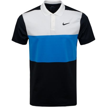 Golf undefined Dry Vapor Colourblock Polo Sail/Light Photo Blue - AW19 made by Nike Golf