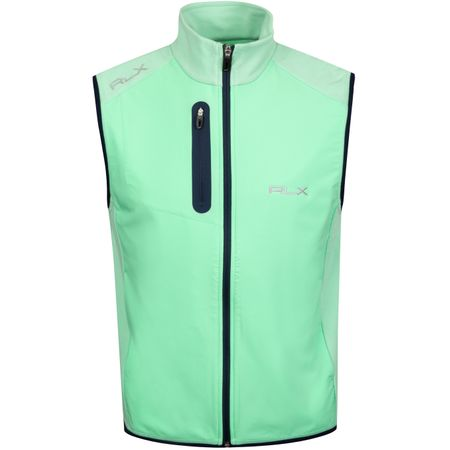 Golf undefined Tech Terry FZ Vest Spring Leaf - AW19 made by Polo Ralph Lauren