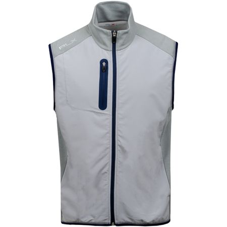 Golf undefined Tech Terry Full Zip Vest Andover Heather - AW19 made by Polo Ralph Lauren