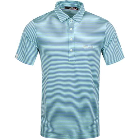 Golf undefined Feed Stripe Airflow Spring Leaf/Blue Mist - AW19 made by Polo Ralph Lauren