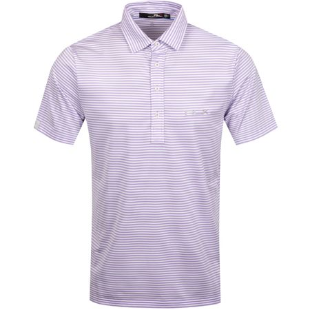 Golf undefined Feed Stripe Airflow Powder Purple/Pure White - AW19 made by Polo Ralph Lauren