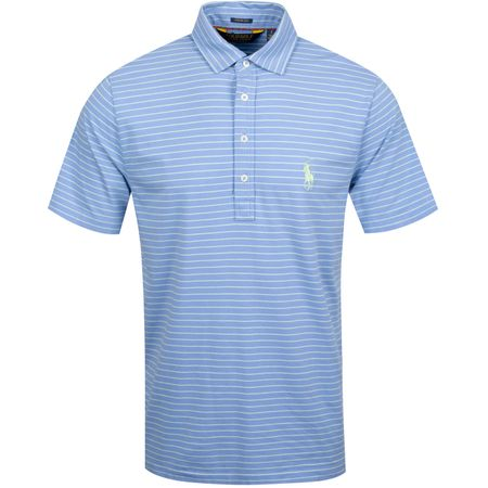 Golf undefined YD Vintage Lisle Polo Blue Mist/Spring Leaf - AW19 made by Polo Ralph Lauren