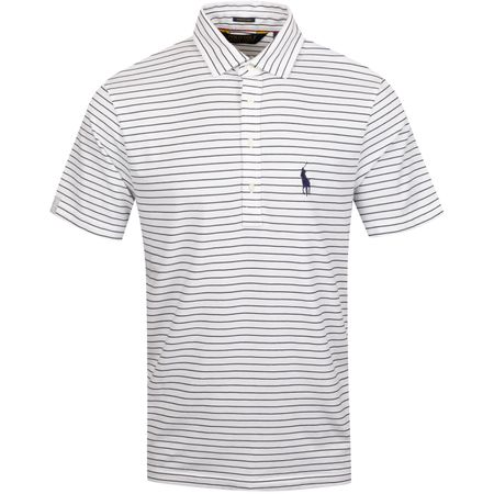 Polo YD Vintage Lisle Polo French Navy/Pure White - AW19 Polo Ralph Lauren Picture