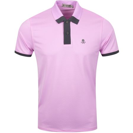 Golf undefined Contrast Polo Violet - AW19 made by G/FORE