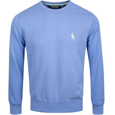 Golf undefined Performance Crewneck Sweater Blue Mist - AW19 made by Polo Ralph Lauren