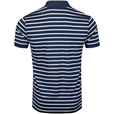 Golf undefined Wide Stripe Polo Twilight/Snow - AW19 made by G/FORE