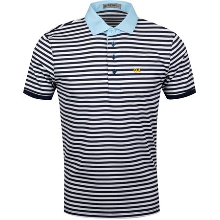 Golf undefined G4 Stripe Polo Twilight - AW19 made by G/FORE
