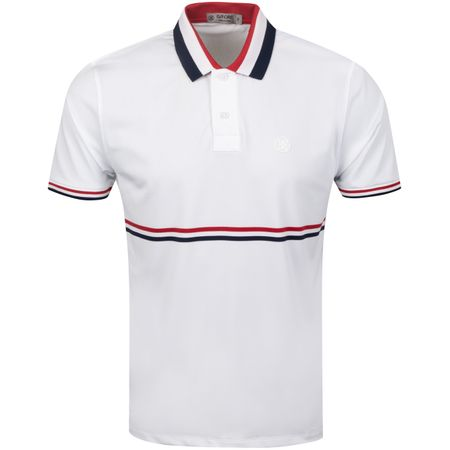 Polo Liberty Stripe Polo Snow - AW19 G/FORE Picture