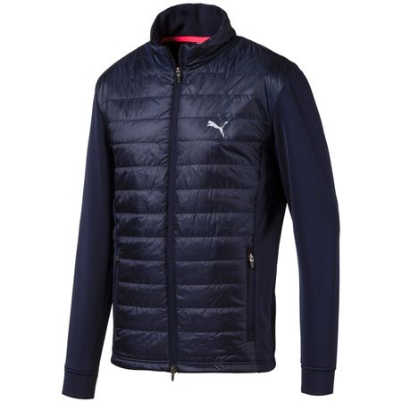 Jacket Quilted Primaloft Jacket Peacoat - AW19 Puma Golf Picture