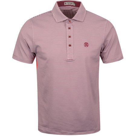 Polo Feeder Stripe Polo Cabernet - AW19 G/FORE Picture