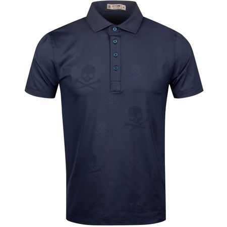 Polo Skull & T's Embossed Polo Twilight - AW19 G/FORE Picture