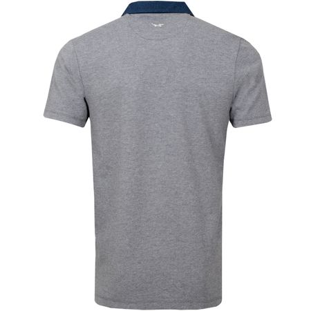 Polo Johnny Collar Polo Grey Melange - SS19 Wolsey Picture