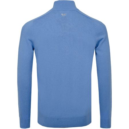 Golf undefined Merino Quarter Zip Sweater Riviera - SS19 made by Wolsey