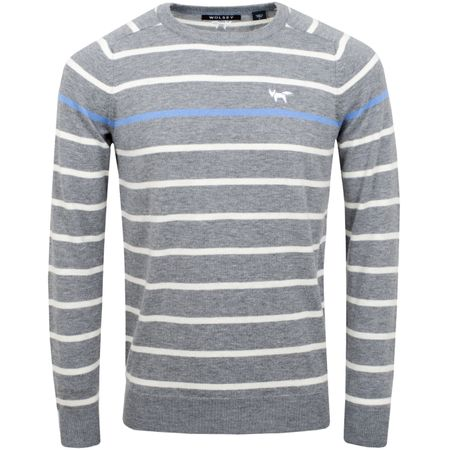 Golf undefined Pop Breton Crew Grey Melange - SS19 made by Wolsey