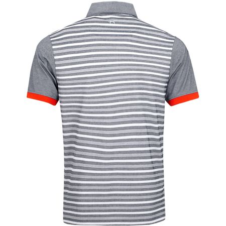 Polo Stripe BD Polo Total Eclipse/White - SS19 Wolsey Picture