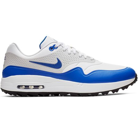 Shoes Air Max 1G White/Game Royal/Neutral Grey Nike Golf Picture