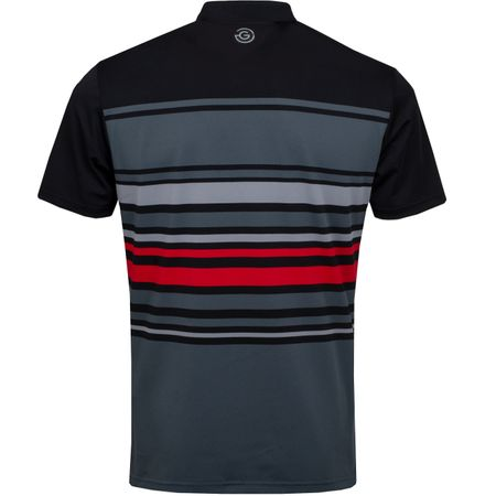 Golf undefined Miguel Ventil8+ Polo Iron Grey/Black/Red - AW19 made by Galvin Green