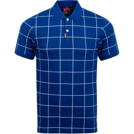 Golf undefined The Golf Grid Polo Blue Void made by Nike Golf