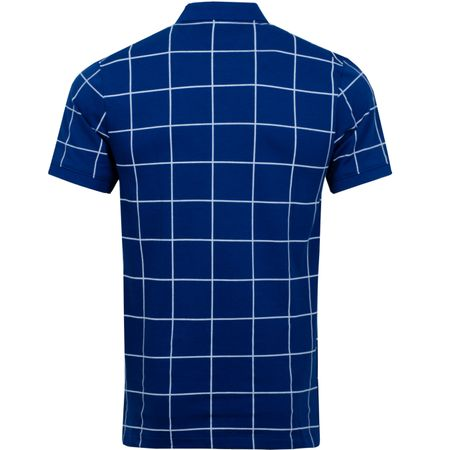 Polo The Golf Grid Polo Blue Void Nike Golf Picture