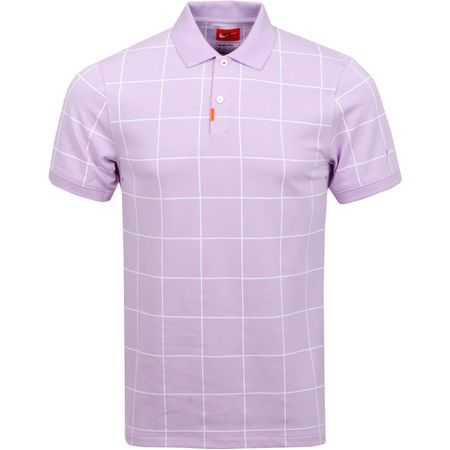 Golf undefined The Golf Grid Polo Lilac Mist made by Nike Golf