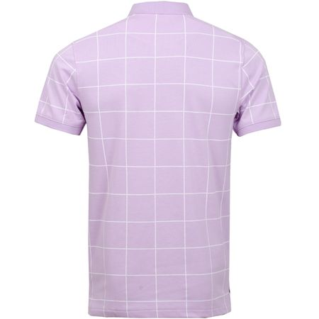 Polo The Golf Grid Polo Lilac Mist Nike Golf Picture