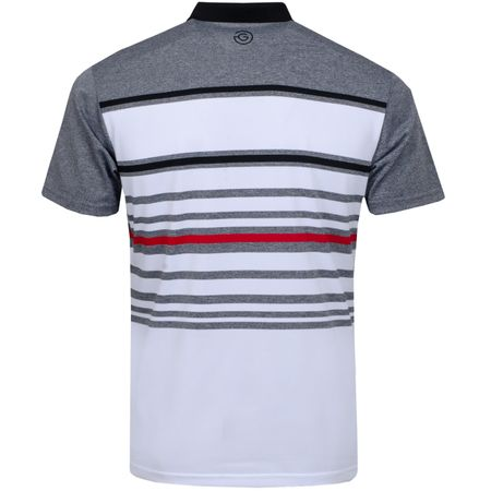 Golf undefined Miguel Ventil8+ Polo White/Sharkskin/Black - AW19 made by Galvin Green