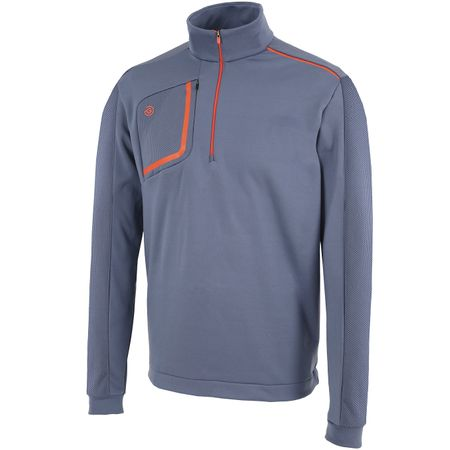 Golf undefined Dwight HZ Insula Jacket Ensign Blue/Rusty Orange - AW19 made by Galvin Green