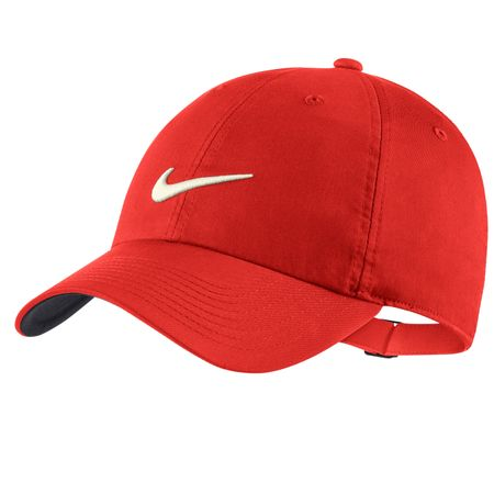 Cap Heritage 86 Statement Player Cap Habanero Red Nike Golf Picture