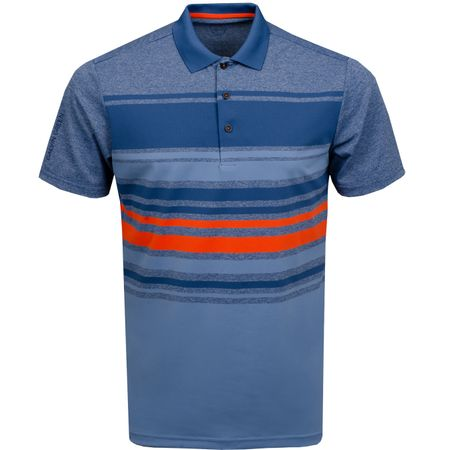 Polo Miguel Ventil8+ Polo Ensign Blue/Faded Denim - AW19 Galvin Green Picture