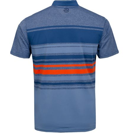 Golf undefined Miguel Ventil8+ Polo Ensign Blue/Faded Denim - AW19 made by Galvin Green