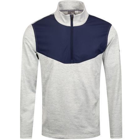 Golf undefined Preston Quarter Zip Quarry Heather - AW19 made by Puma Golf