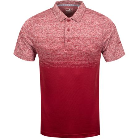 Golf undefined Evoknit Ombre Polo Rhubarb - AW19 made by Puma Golf