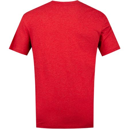 TShirt Me Time Heather Red TravisMathew Picture