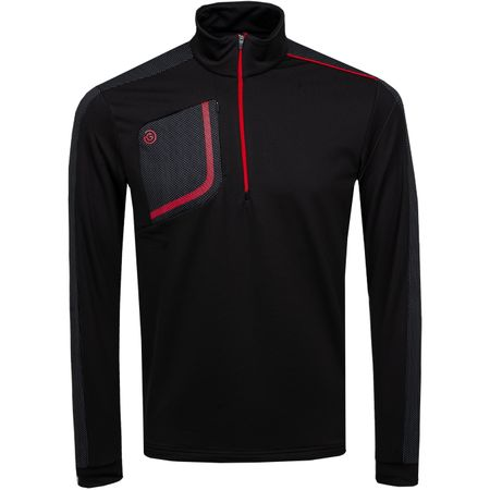 Golf undefined Dwight HZ Insula Jacket Black/Red - AW19 made by Galvin Green