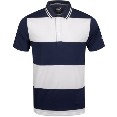 Golf undefined Rugby Polo Peacoat/White - AW19 made by Puma Golf