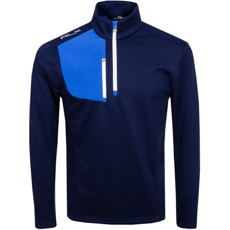 Golf undefined Half Zip Thermal Tech Top French Navy - AW19 made by Polo Ralph Lauren