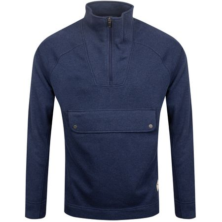 Golf undefined Fusion Quarter Zip Peacoat Heather - AW19 made by Puma Golf