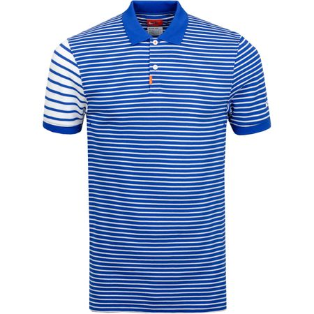 Polo The Golf Stripe Polo Indigo Force/Sail Nike Golf Picture