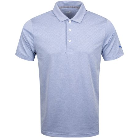 Golf undefined Field Polo Dazzling Blue Heather - AW19 made by Puma Golf