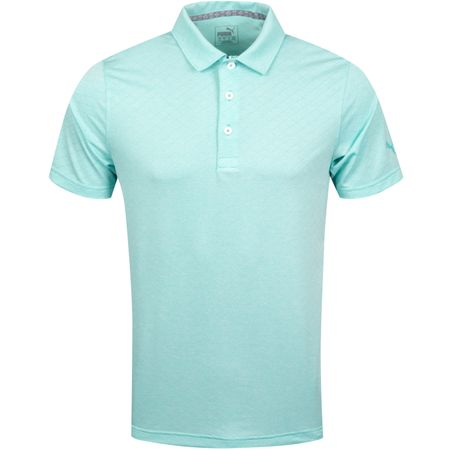 Polo Field Polo Blue Turquoise Heather - AW19 Puma Golf Picture